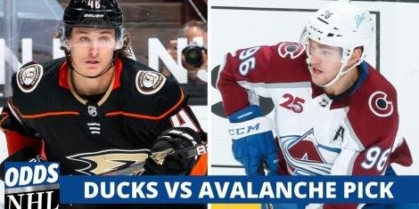 Ducks vs Avalanche Pick