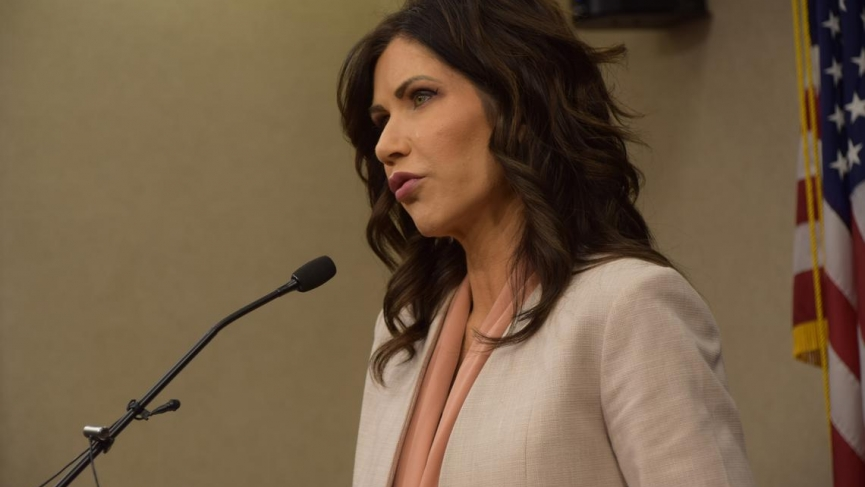 Governor Kristi Noem South Dakota Sports Betting Bill