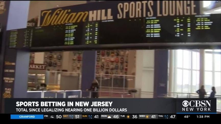 New Jersey February Sports Betting Revenue