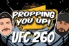 UFC 260 Odds and Props
