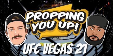 UFC Vegas 21 Odds Props