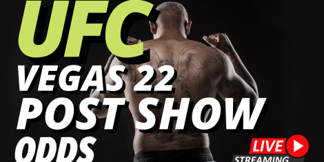 UFC Vegas 22 Odds and Results Post SHow