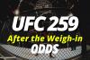 UFC 259 Odds
