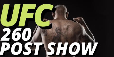 UFC 260 Odds Post Show