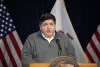 Gov. JB Pritzker In Person Registration Illinois